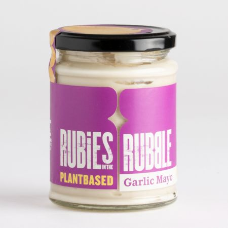 Rubies in the Rubble Garlic Plantbased Mayo 255g