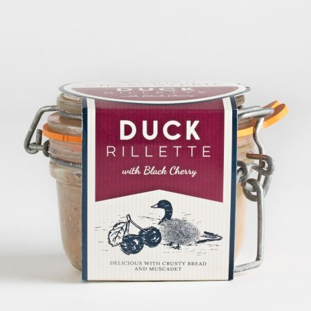 Cornish Charcuterie British Duck Rillettes & Black Cherry (125g)
