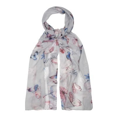 Ladies Butterfly Print Scarf (180x100)