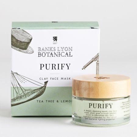 Banks Lyon Botanical Purify Face Mask Jar 50g