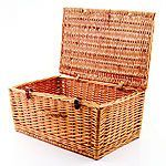 This hamper is presented in a Open Gift Basket
