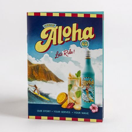 Aloha 65 Cocktail Booklet