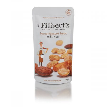 Filberts Applewood Smoked Mixed Nuts