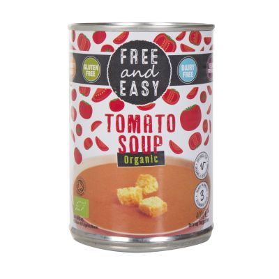 400g Free and Easy Tomato Soup