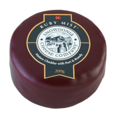 200g Snowdonia Ruby Mist Cheese