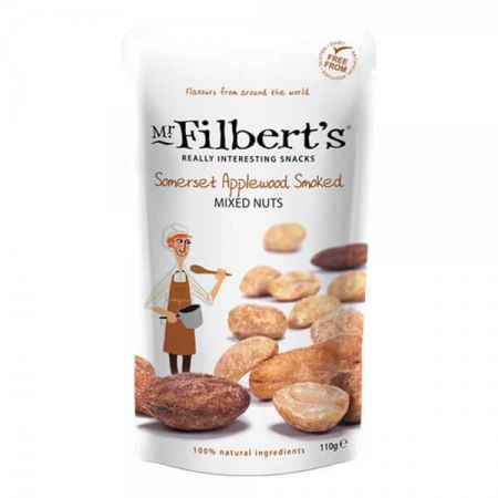 110g Filberts Applewood Smoked Mixed Nuts