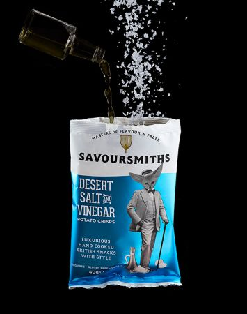 40g Savoursmiths Desert Salt & Vinegar Crisps