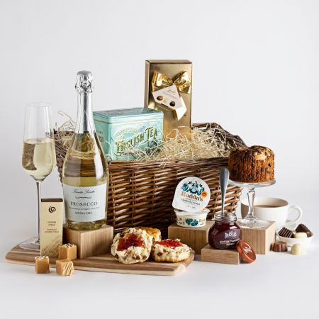 Afternoon Tea With Prosecco Hamper