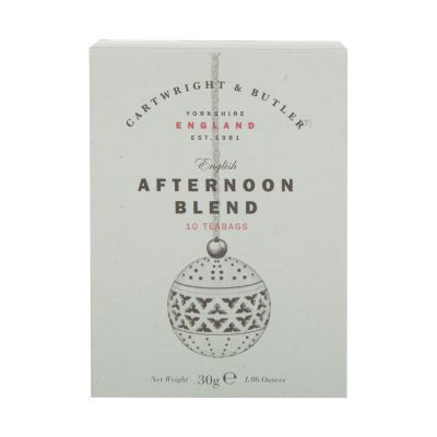 30g Cartwright and Butler Afternoon Blend Tea Bags (10)