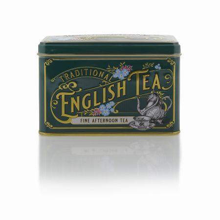 80g Traditional English Tea  Caddy (Green)