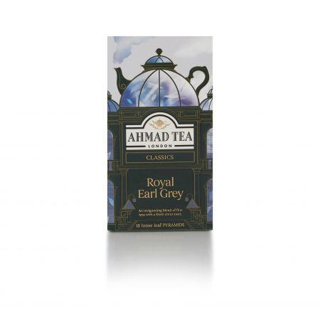 37.5g Ahmad Tea Royal Earl Gray Pyramid Tea Bags