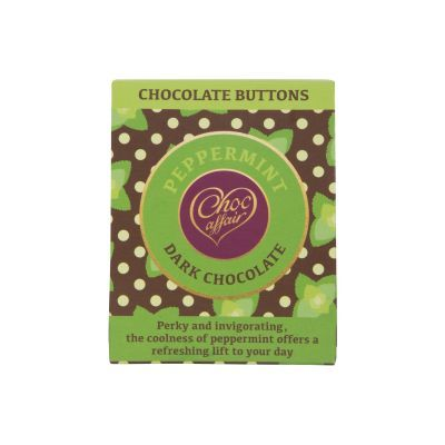 40g Choc Affair Choc Mint Buttons