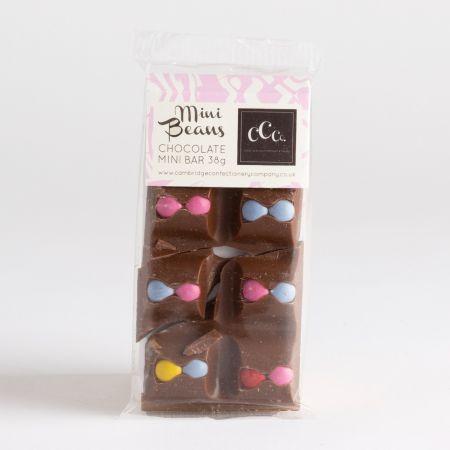 38g The CCC Mini Milk Chocolate Bar with Beans