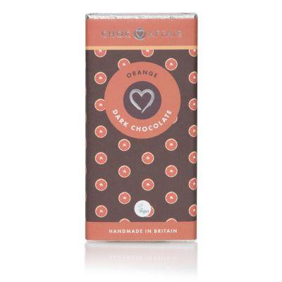 90g Choc Affair Dark Chocolate and Orange