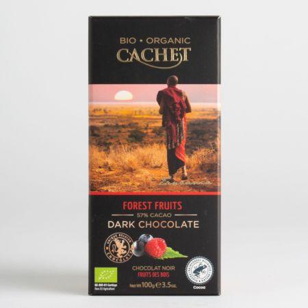 100g Cachet Forest Fruits Chocolate Bar
