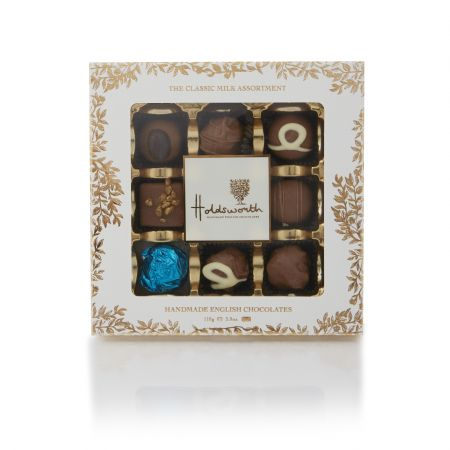 110g Holdsworth Chocolates Classic Milk Chocolate Window Box