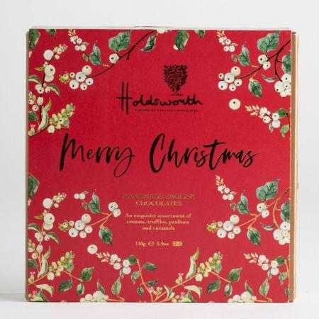 110g Holdsworth Merry Christmas Gift Box