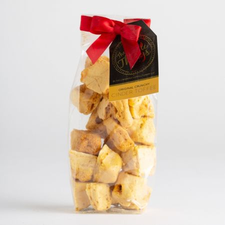 160g The CCC Cinder Toffee in a bag