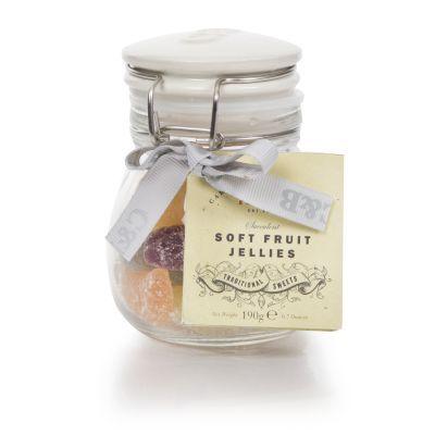 Cartwright and Butler Soft Fruit Jellies in Kilner Jar 190g