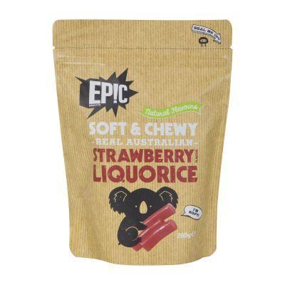 Epic Strawberry Liquorice 200g