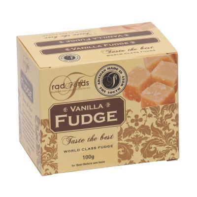 Radfords Vanilla Fudge Box 100g