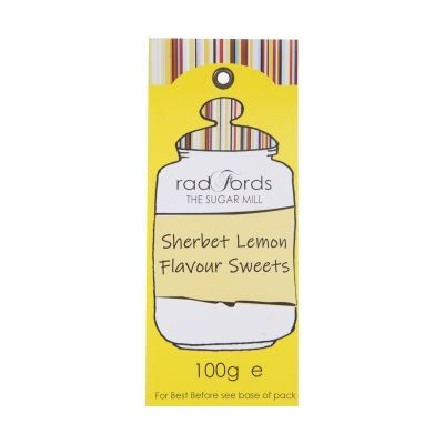 100g Radfords Sherbet Lemon Sweets