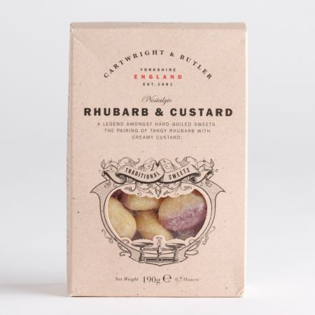 190g C&B Rhubarb and Custard Sweets