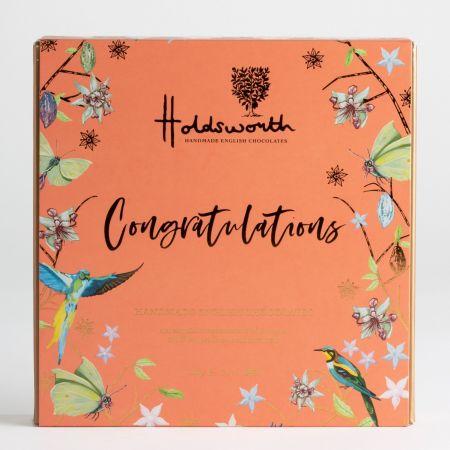 Holdsworth Congratulations Chocolate Gift Box, 110g