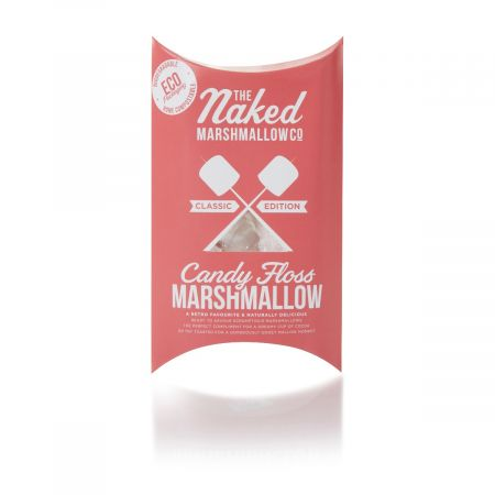 The Naked Marshmallow Co. Candy Floss Marshmallows (100g)