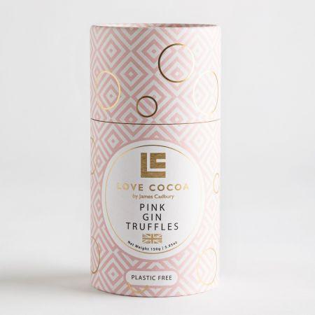 Love Cocoa Pink Gin Truffles Tube (150g)