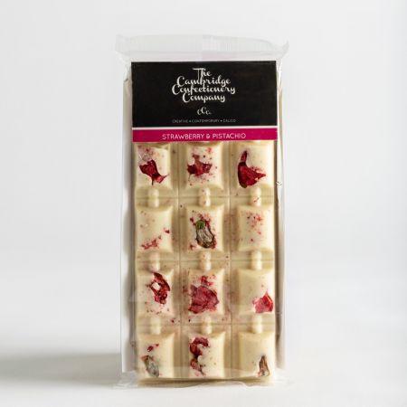 CCC Strawberry & Pistacio White Chocolate Bar