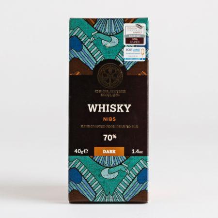 Chocolate Tree Whisky Nibs Dark Chocolate