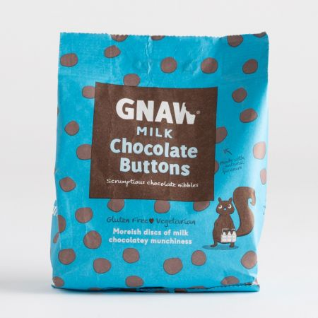 Gnaw Chocolate Buttons  150g