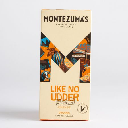 Montezuma's Like No Udder Milk Chocolate with Orange 90g