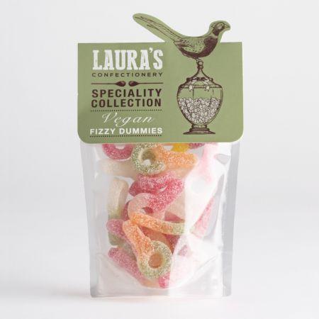 Laura's Confectionary Vegan Fizzy Dummies 110g