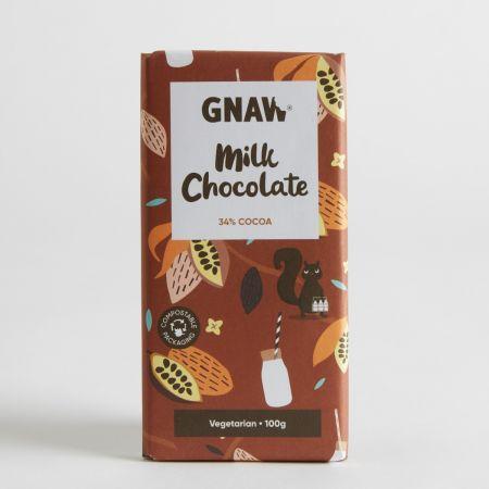 Gnaw Milk Chocolate Bar 100g