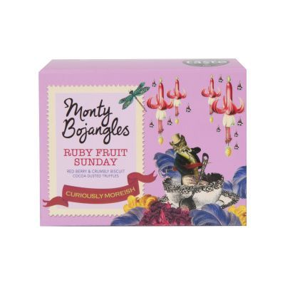 100g Monty Bojangles Ruby Fruit Sunday Truffles