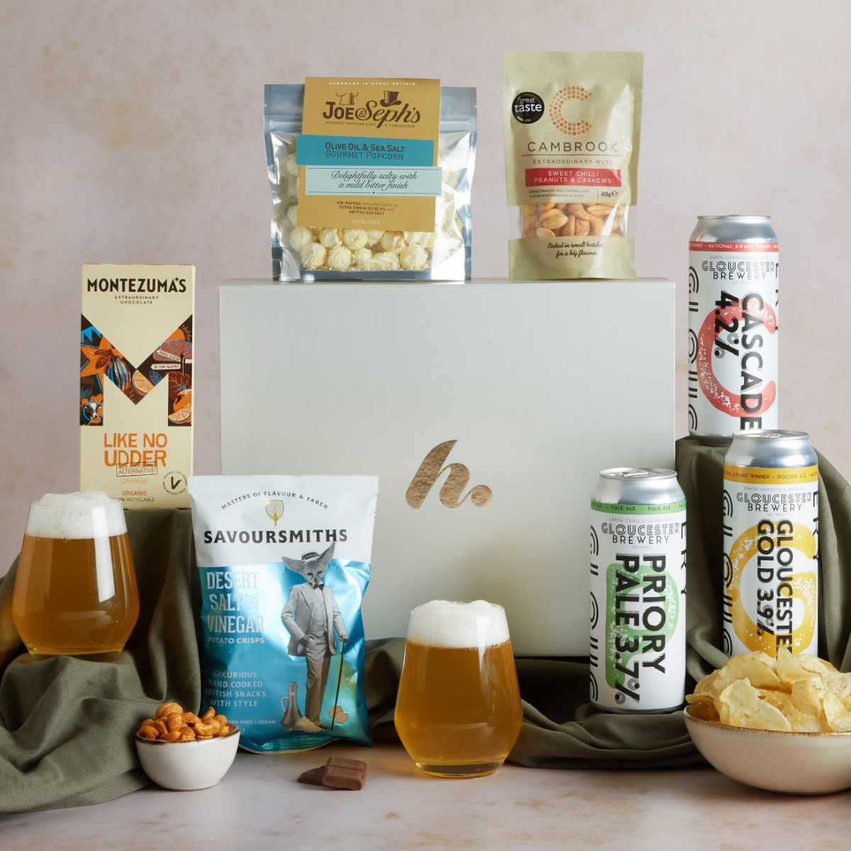Premium Craft Beer & Snacks Hamper Craft Beer Hampers Hampers.com
